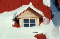 Protect your house in snowy regions with proper roofing materials and roof design.