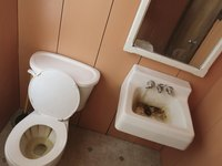 Iron and manganese lead to red-brown and black stains in toilets, tubs and sinks.