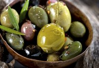 Smoking adds deep flavor to briny, rich olives.