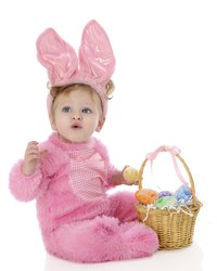 From infant to adult, everyone looks cute dressed as a rabbit.