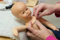 Doll making is a craft that takes time and patience to learn.