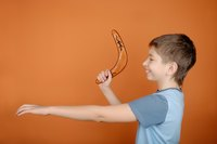 Paper boomerangs are safe to make as well as safe to throw in the house.