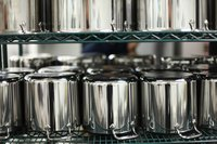 All-Clad cookware is widely used in professional kitchens.