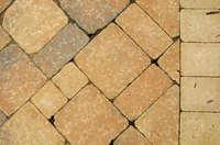 Trim pavers by employing one of several different methods.