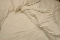 Proper maintenance can prevent clumping in down comforters.