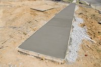 Footings offer security for mobile homes.