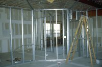 Complete with top and bottom plates, called tracks, steel framing systems often resemble wood stick framing.