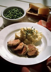 Serve pork tenderloin at a family dinner.