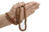 Traditionally, Mala beads are made from wood or sacred seeds.