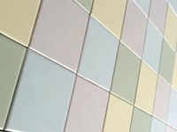 Several minerals go into procuing ceramic tile.