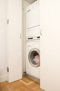 Building a closet for your washer and dryer can improve the value of your home.
