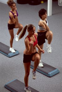 Adding step-up exercises to your routine increases your calorie burn.