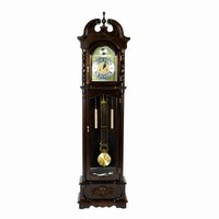 Lower the weights correctly on your grandfather clock.