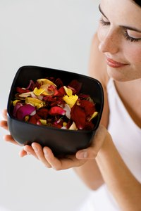 Some potpourri contains added fragrance chemicals that can be toxic to children and pets.