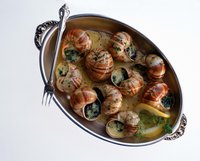 Many cultures have variations of the french snail dish, escargot.