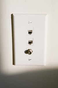 A 12-volt junction box provides support for the wall plate.
