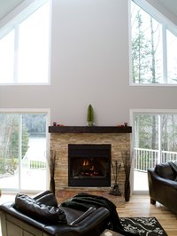 How To Build A Floating Fireplace Mantel Ehow