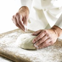 Hand kneading can be gentler.