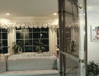 Valances can add extra pizzazz to a room.