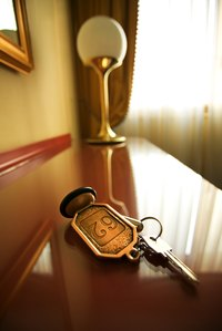 Use a metal letter stamp to add your name to your key chain.