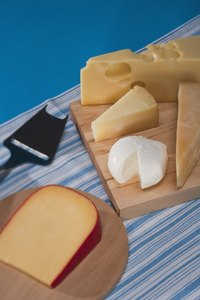 Include both Gouda and Brie on your cheese plate.