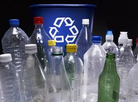 Plastic bottles get a second life.