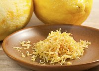 Grate lemon zest right before using for the strongest aroma and flavor.