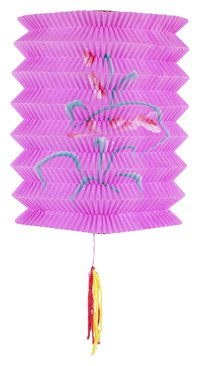 Creating simple paper lanterns produces decorations for any occasion.
