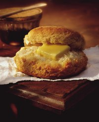 Stovetop biscuits are typically denser than oven-baked biscuits.