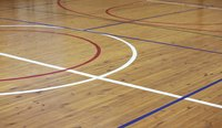 The high gloss of a gymnasium floor may not be right for your living room.