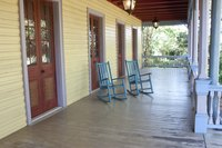 Whether you brush or spray, repainting a rocking chair requires careful preparation.