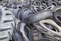 Used tires are a very affordable construction material.