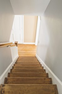 Stairs can take a lot of abuse, but a fully hardened coat of polyurethane is up to the challenge.
