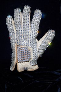 Make a homemade version of Michael Jackson's famous glove.