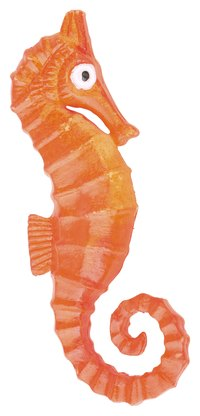Children will love this hands-on seahorse craft.