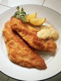 """Frying"" fish in an oven can be a healthy alternative to deep frying."