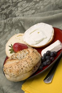 Cream cheese is usually the main ingredient in a cheese ball.