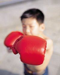 Keep your little boxer's muscles warm with a custom boxing robe.
