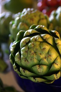 Artichokes make for a great snack on their own.