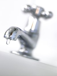 Air in a faucet can be a sign of pressure trouble.