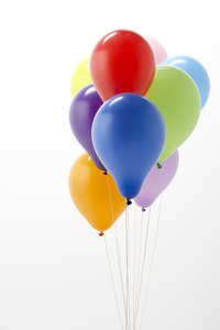 Inflate the balloons to the same size for best results.