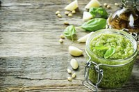Pesto captures the fresh, summery flavor of fresh basil.