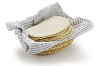 Tortillas are a staple of the Mexican diet.