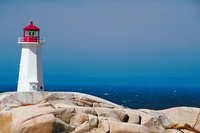 Lighthouses can represent both solitude and romantic mystique.