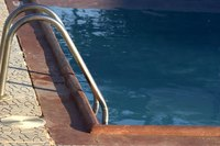 You can install a vinyl liner over a concrete or fiberglass pool.