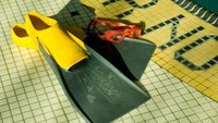 Should Beginner Swimmers Use Fins?