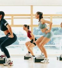 Step aerobics is a low-impact workout you can easily modify to create more intense high-impact workouts that improve your reactive power and burn ...