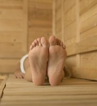 Sitting in the dry heat of a sauna might make you feel relaxed, or it might just make you feel sweaty. The heat has physiological effects on your ...