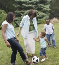 Soccer involves vigorous physical activity of running, kicking and throwing. Regardless of your age, soccer can have you gasping for air and feeling ...