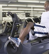A recumbent bike is a stationary bike that has a seat with a back, good for beginners or people with back problems who need some support when ...
